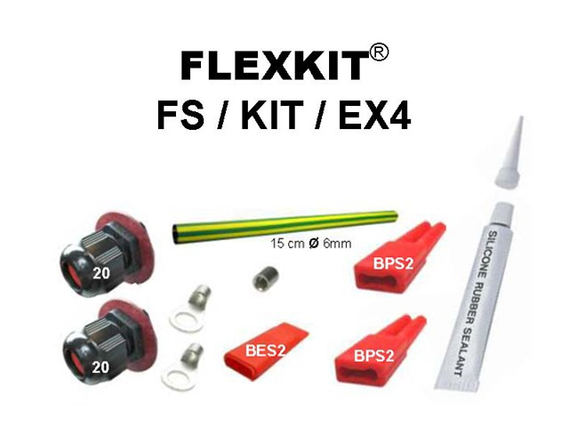 Raccordement Eex FS/KIT/EX4 pour Cable Chauffant